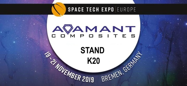 Η Adamant Composites στην SpaceTech Expo 2019