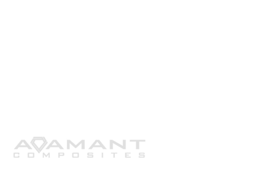 white background image with grey adamant's logo